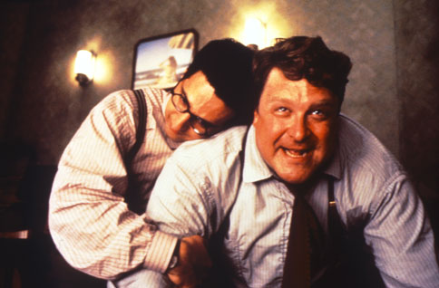 Evil John Goodman (flanked by John Turturro)