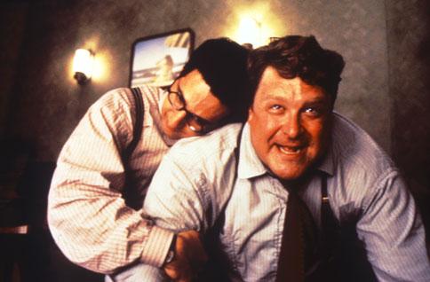 Evil John Goodman (flanked by JohnTurturro)