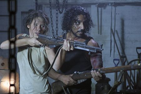 Kate and Sayid, forcing the writers at gunpoint to make sense for a change