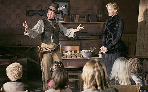 New career move for Calamity Jane - primary schoolteacher?