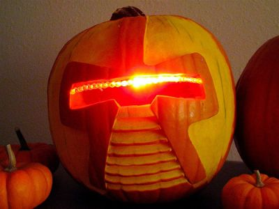 "Do Cylons play ""Trick or Treat""?"