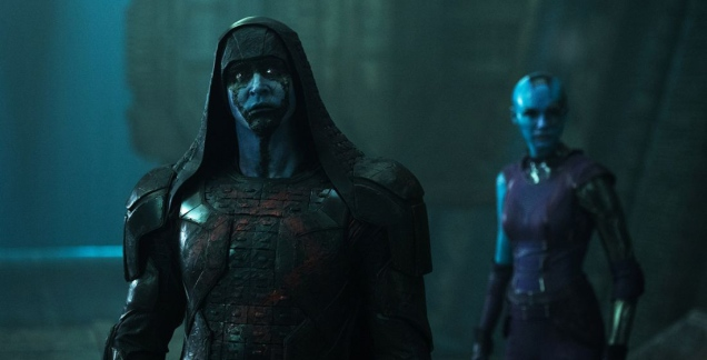 A Kree, an elf and a companion walk into a bar...