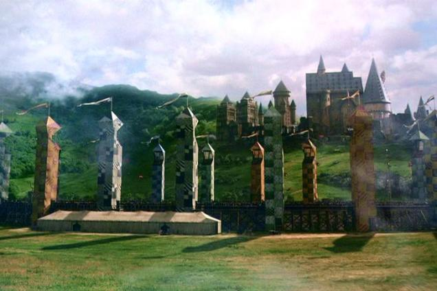 It's quidditch time!