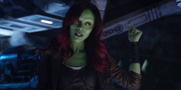 Gamora in Infinity War